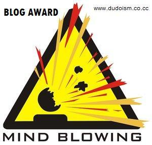 Mind Blowing Blog Award from Arsahana's site.